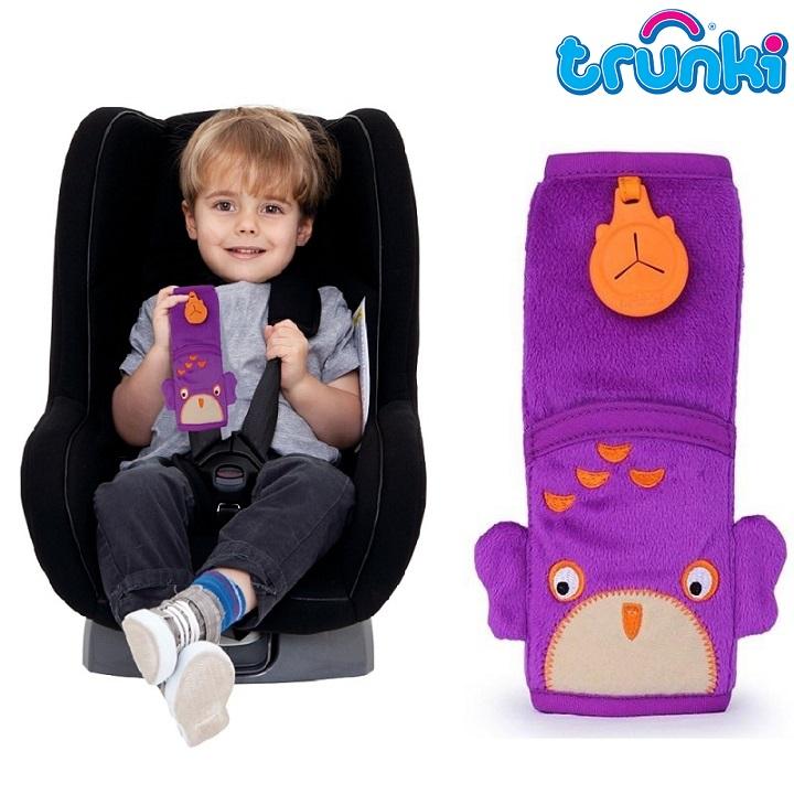 Lasten turvavyön Pehmuste Trunki Owl Ollie