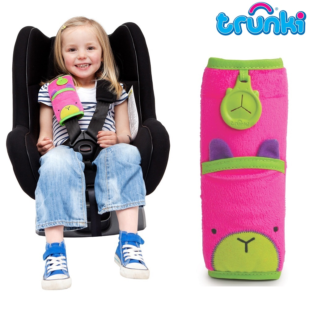 Bältesskydd Trunki Trixie rosa