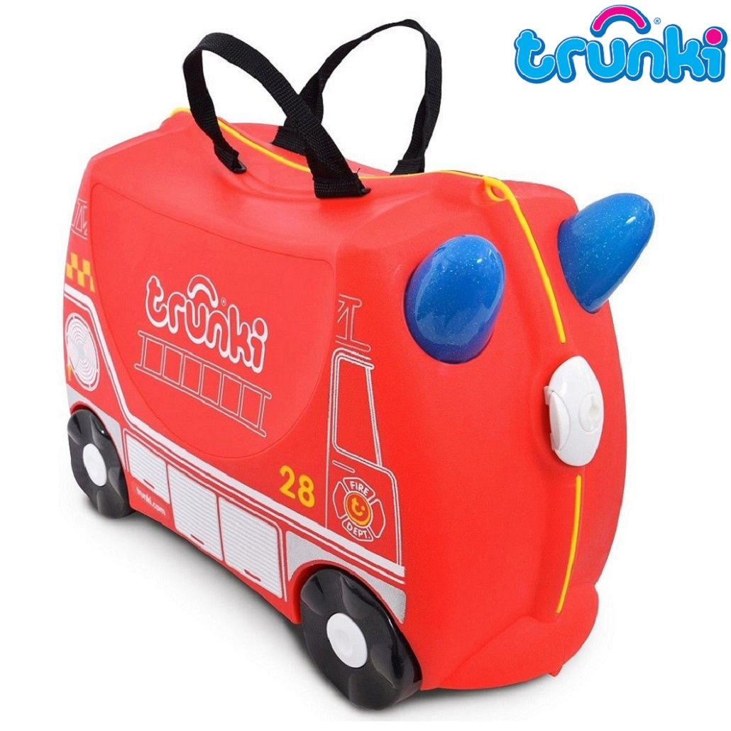 Resväska barn Trunki Fire Engine