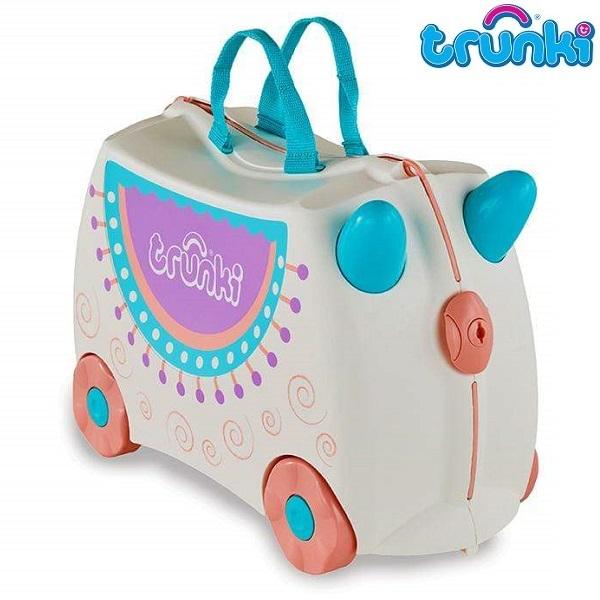 Lasten matkalaukku Trunki Lola the Lama