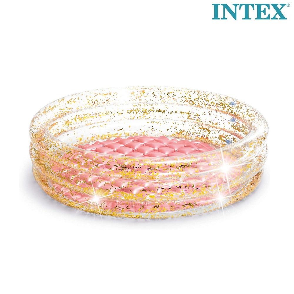 Puhallettava lastenallas Intex Glitter