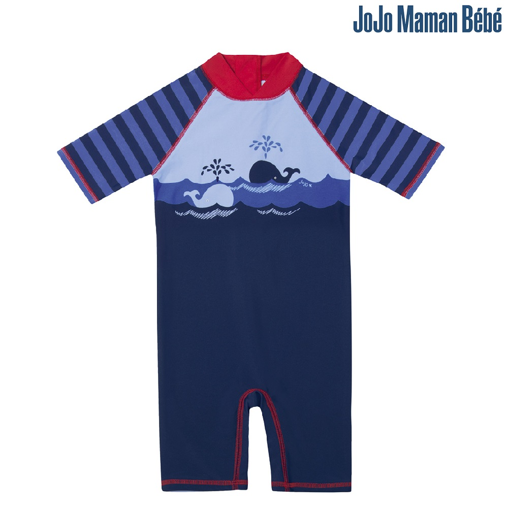 Lasten Uv uimapuku Jojo Maman Bebe Valas sininen