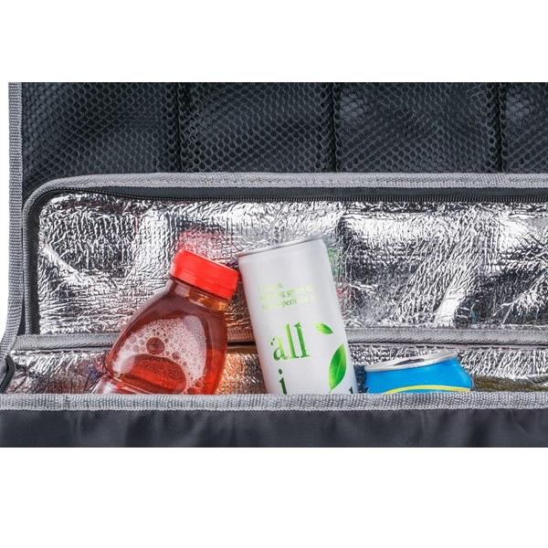 Potkusuoja ja kylmalaukku autoon Walser Cooler Bag musta