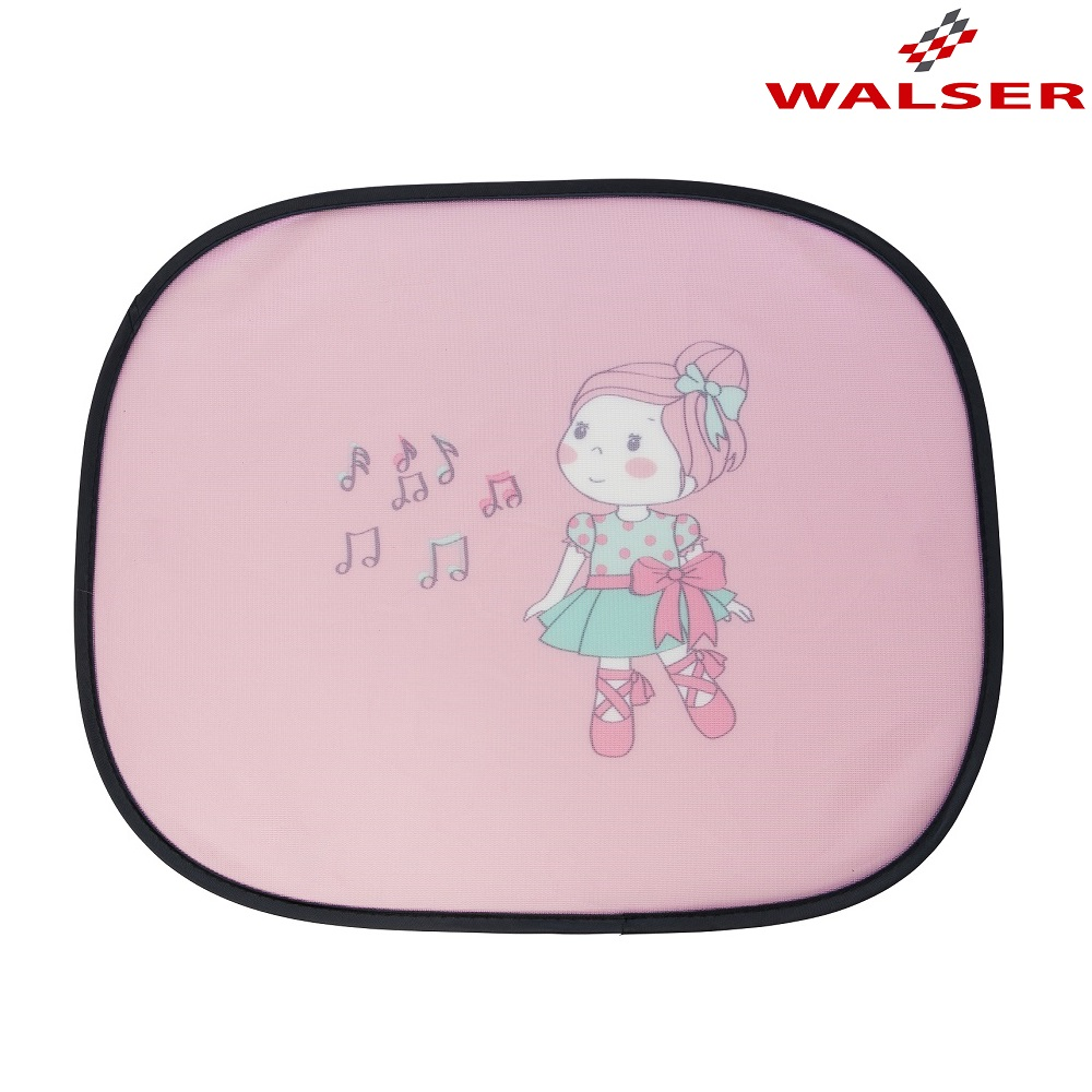 Aurinkosuoja autoon Walser Ballet vaaleanpunainen