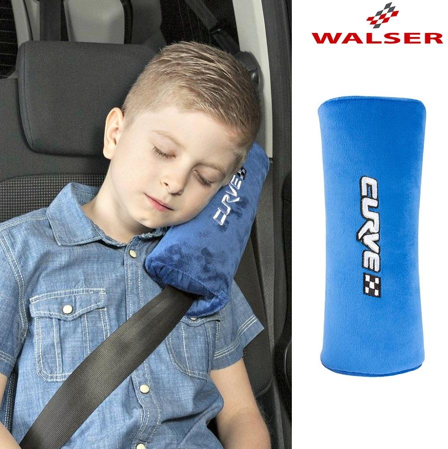 Lasten niskatyyny auton turvavyohon Curvex sininen