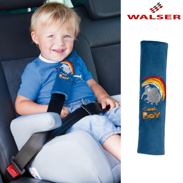 Turvavyonpehmuste autoon Walser Cool Boy sininen
