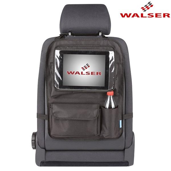 Tablettipidike ja jarjestelija autoon Walser Maxi musta