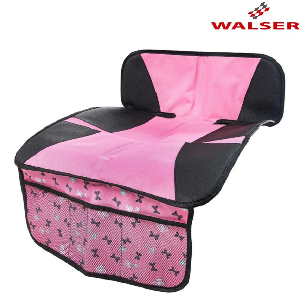 Istuinsuoja autoon Walser Ballet vaaleanpunainen