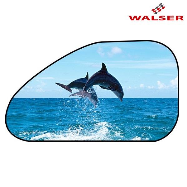 Aurinkosuoja autoon Walser Delffiinit sininen