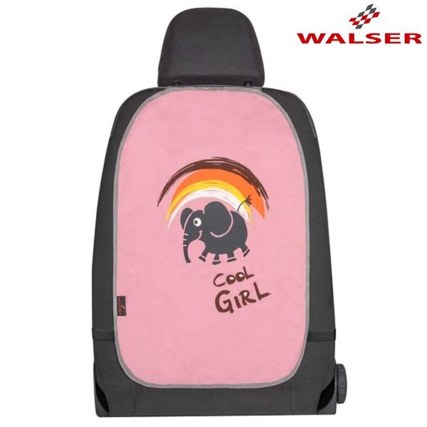 Potkusuoja autoon Cool Girl vaaleanpunainen
